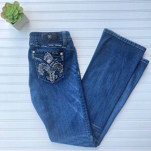 Miss Me Signature boot jeans 30X34